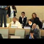 【国連演説】我那覇真子(20代)さん 「翁長氏の人権侵害発言は真実ではない。プロパガンダを信じないでください。」