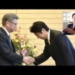 翁長知事、河野洋平と中国訪問